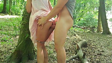 SEX IN THE FOREST ON THE FIRST DATE