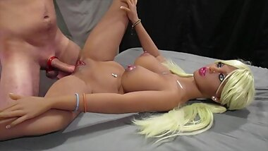 Sweet Heaven taking Dick ( Sex Doll Fucking )