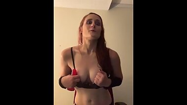 Leaked vid! DelishTrish has a hostage/personal sex toy/Barbie doll