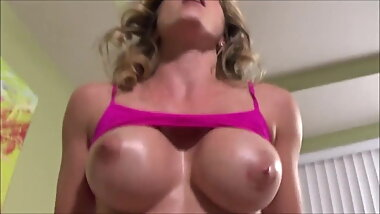 Son Fucks Big Breasted Step Mom - Cory Chase -Family Therapy