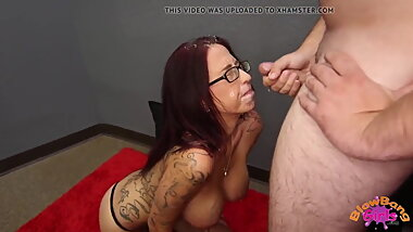 Perfection casting cumshot